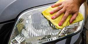 headlight polishing