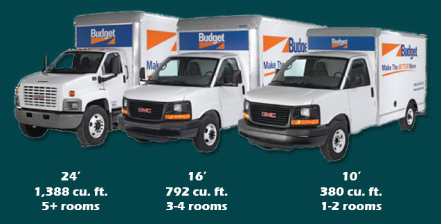 Moving Truck Rentals One Way Unlimited Mileage >> Budget Truck Rentals | Evergreen Car Wash | Rochester